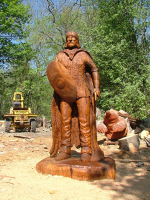 Andrew Frost Wood Sculptor Home